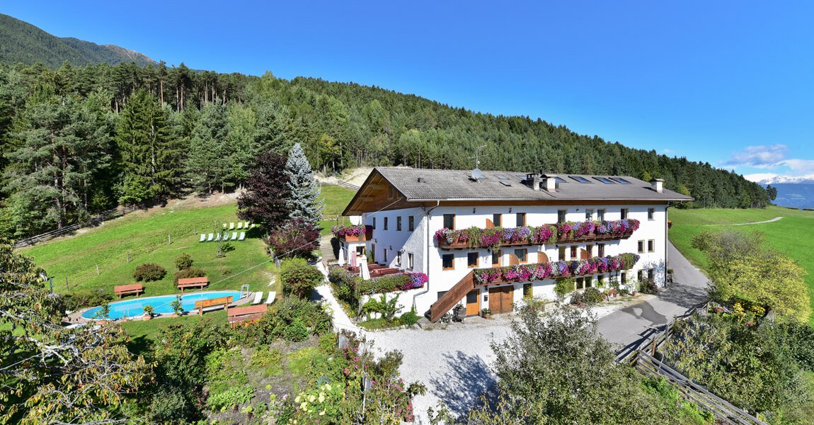 The farm Saderhof close to Bressanone | Farm holidays in the Isarco Valley - South Tyrol