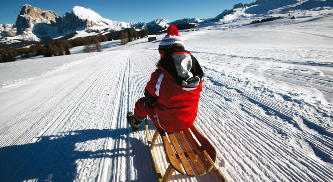 Toboggan & cross-country skiing in the Isarco Valley